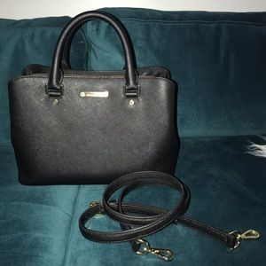 Micheal Kors Savannah Saffiano Leather Satchel